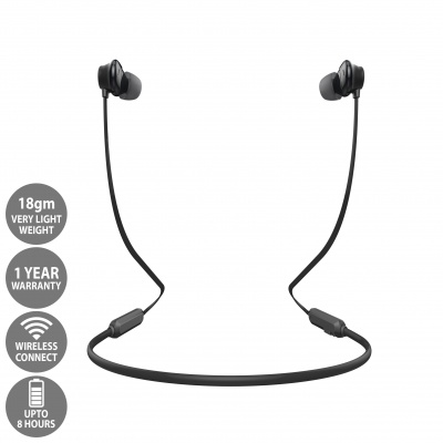 LCARE BlackThunder Wireless Bluetooth Earphone with Stereo Sound
