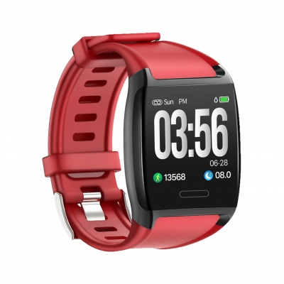 LCARE Watch with Blood Pressure + Heart Rate Monitor